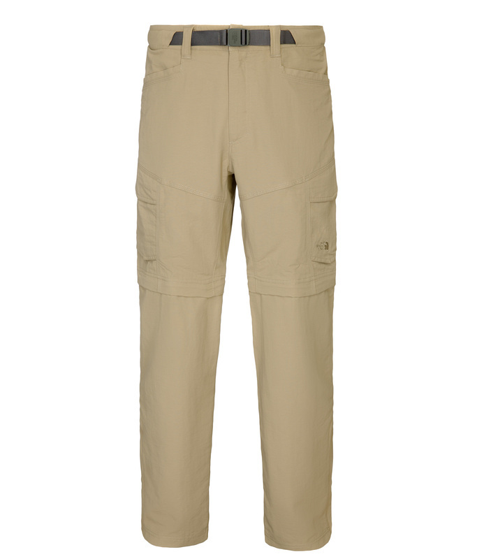 Nohavice The North Face M Paramount PEAK II CONVERTIBLE PANT A4J0254 LNG