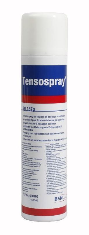 Sprej na tejp Select Tensospray transparentná