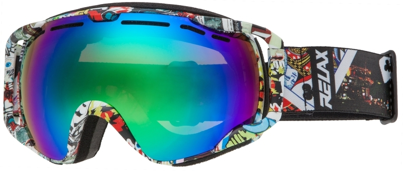 Lyžiarske okuliare Relax HORNET HTG57A - gamisport.sk 15e9d0a354e