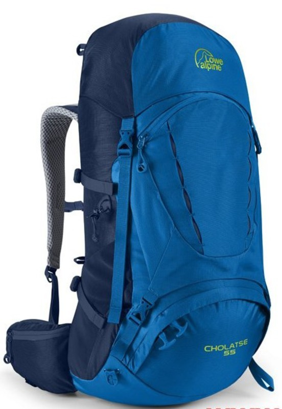 Batoh Lowe Alpine Cholatse 55 giro / blue print