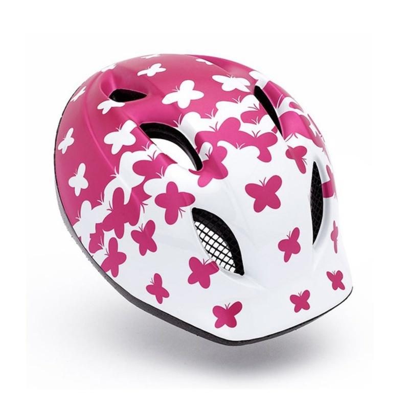 Detská helma Met Buddy motýľ / ružová
