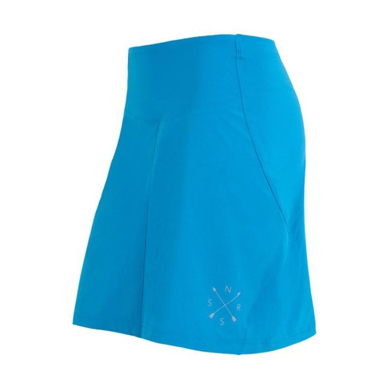 Dámska športové sukňa Sensor Infinity modrá 17100113 XL