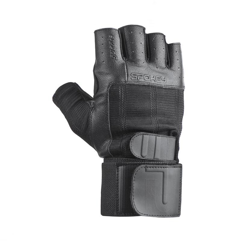 Fitness rukavice Spokey GUANTO II čierne