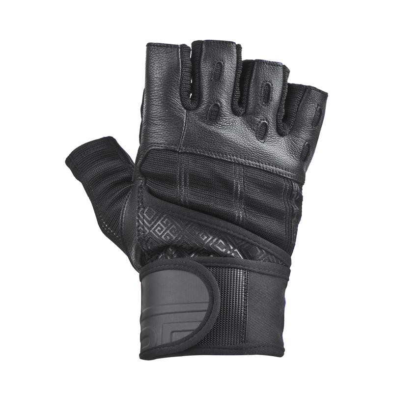 Fitness rukavice Spokey RAYO III čierne
