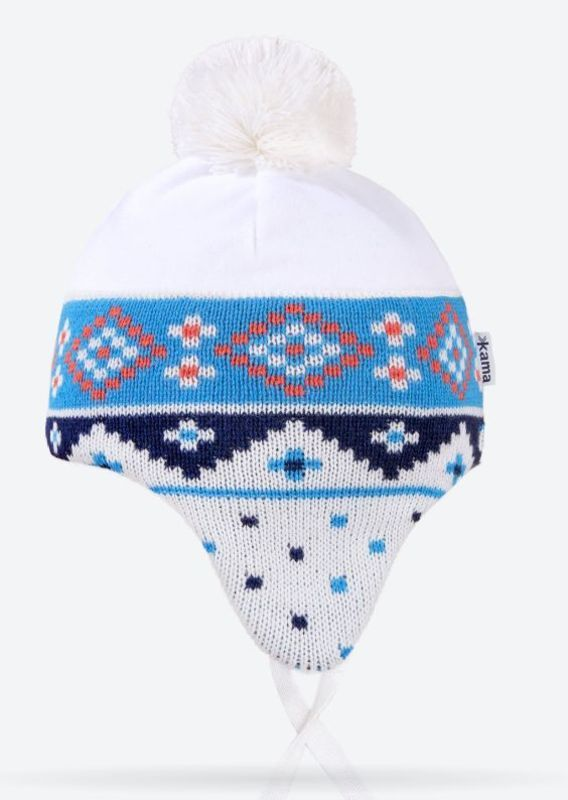 f177a0c1f Detská pletená čiapka Kama B72 101 - gamisport.sk