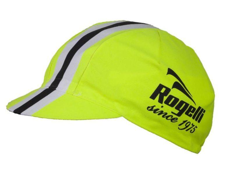 Športové šiltovka Rogelli RETRO, reflexná žltá 009.953.