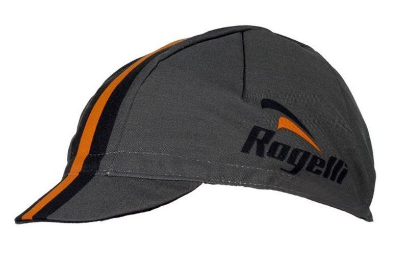 Športové šiltovka Rogelli RETRO, šedo-oranžová 009.952.
