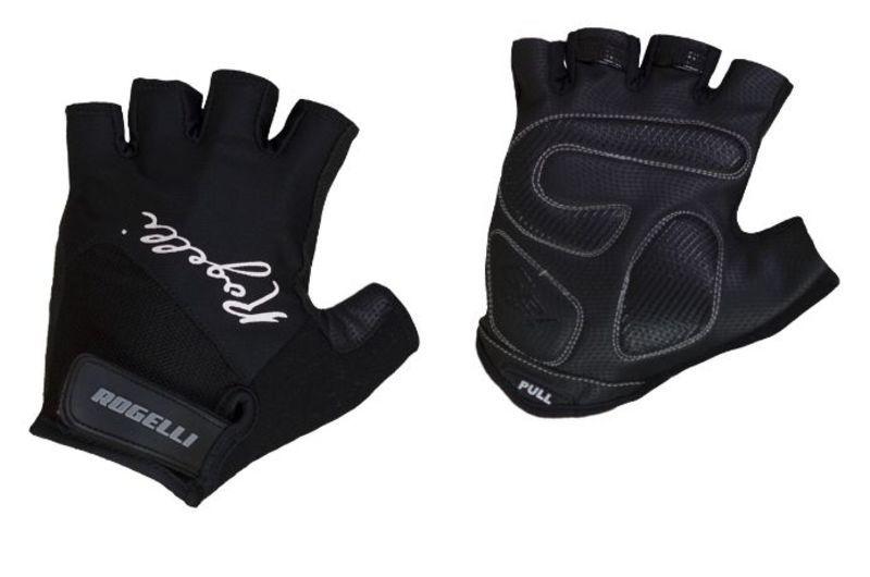 Dámske rukavice na kolo Rogelli DOLCE, čierne 010.612. L