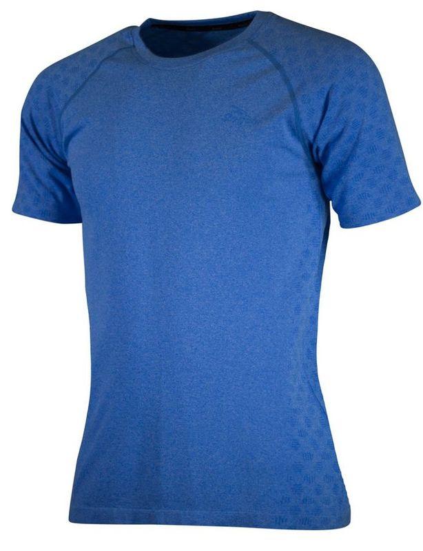 Funkčný bezšvíkové triko Rogelli SEAMLESS, modré 800.272. M
