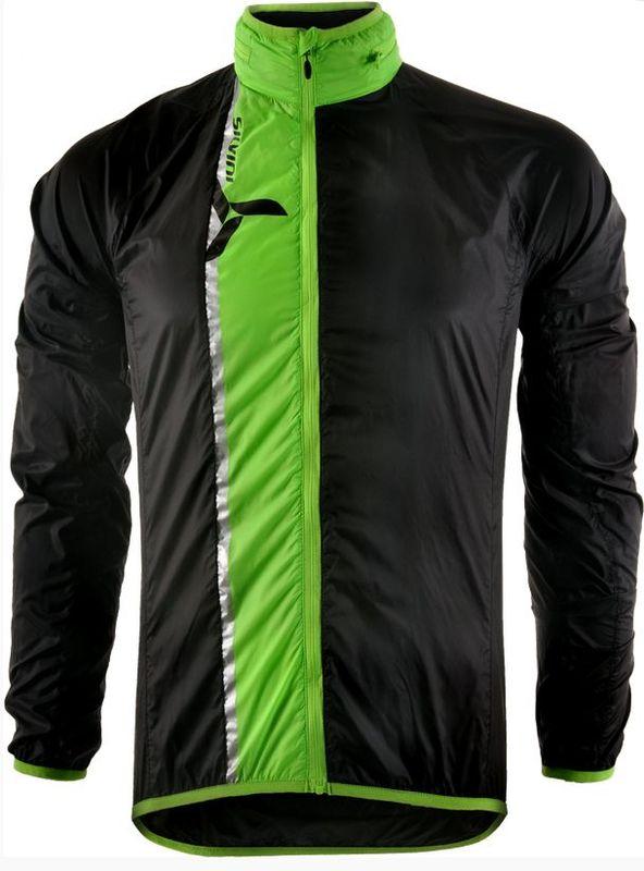 Pánska ultra light bunda Silvini GELA MJ801 black-green