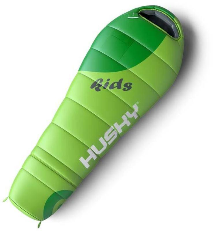 Spacie vrece Husky Outdoor Kids Magic -12°C zelený