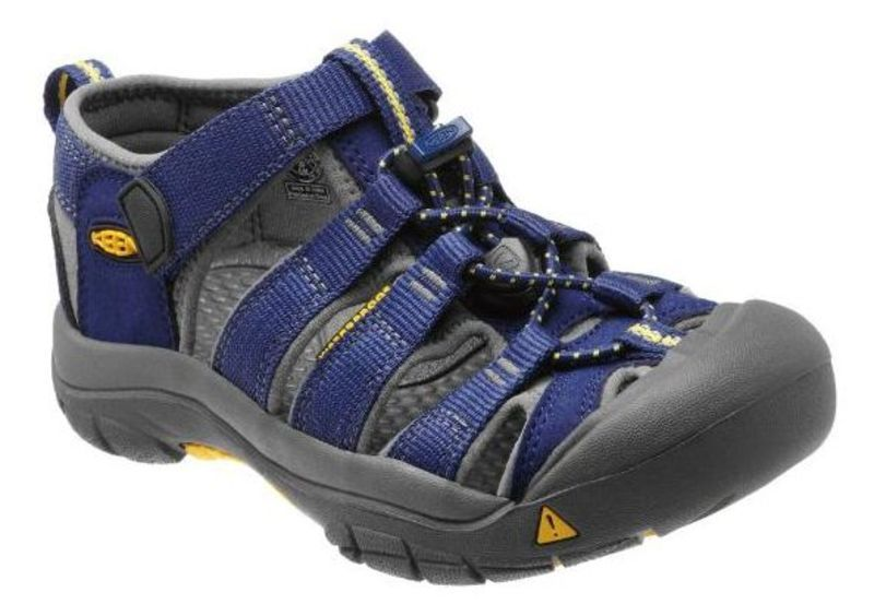 Sandále Keen Newport H2 Jr, blue depths / gargoyle 1 US