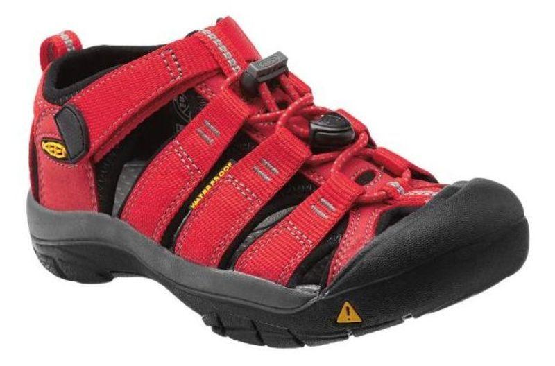 Sandále Keen Newport H2 Jr, ribbon red / gargoyle 3 US