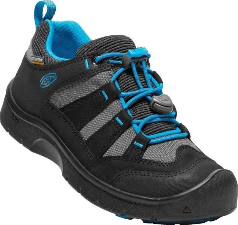 Detské topánky Keen Hikeport WP Jr, black / blue jewel 9 US