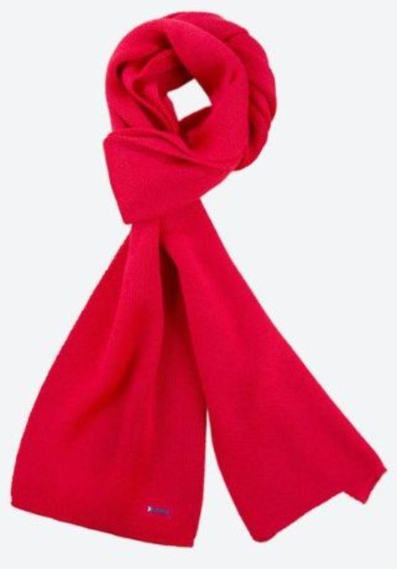 Pletená Merino šál Kama S22 104 červená