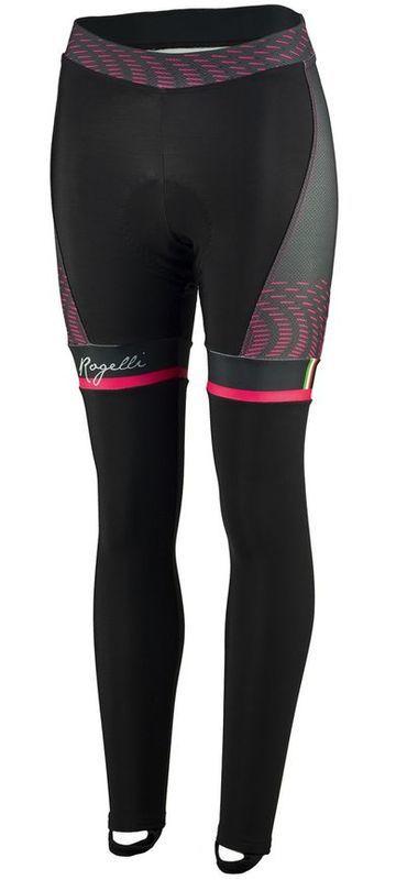 Dámske cyklistické nohavice Rogelli Bella, 010.253. čierno-ružové