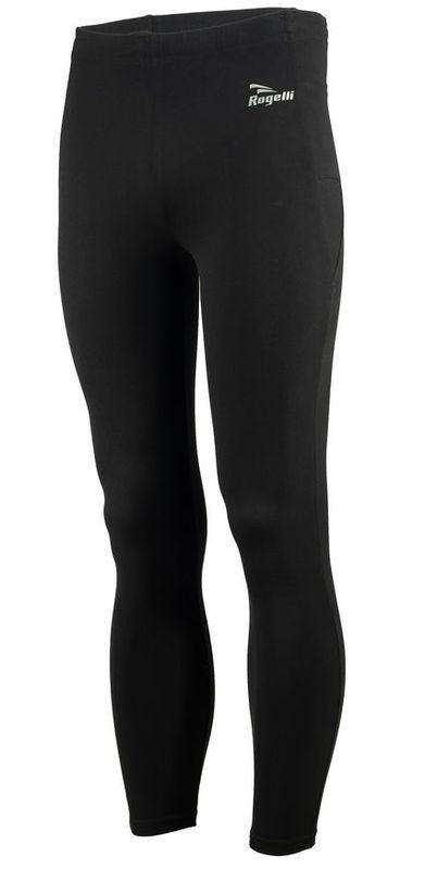 Pánske bežecké nohavice Rogelli Trail, 800.002. čierne