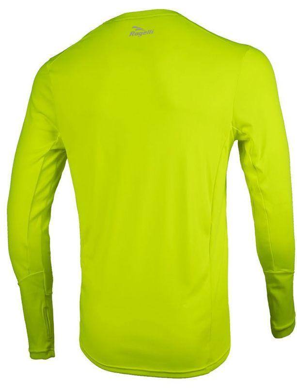 015988e1a Športové funkčnou triko Rogelli BASIC s dlhým rukávom, 800.260. reflexná  žltá. Športové funkčnou triko Rogelli BASIC s dlhým rukávom ...