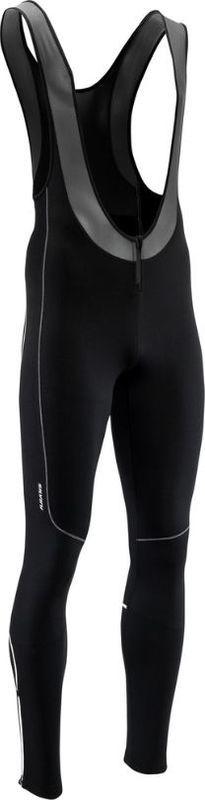 Pánske elastické zimný nohavice Silvini RUBENZA MP1317 black XL