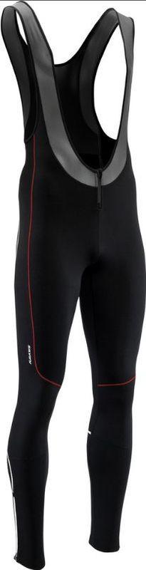 Pánske elastické zimný nohavice Silvini RUBENZA MP1317 black red XL