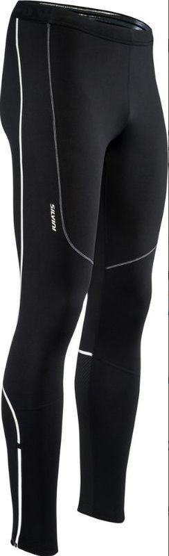 Pánske elastické zateplené nohavice Silvini RUBENZA MP1313 black S