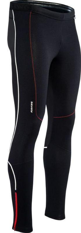 Pánske elastické nohavice Silvini MOVENZA MP1312 black XL