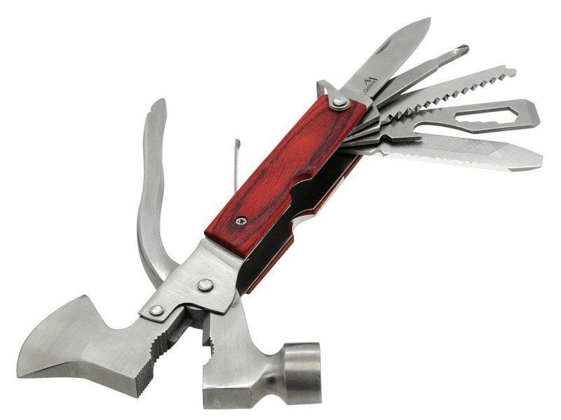 Multifunkčné nôž Cattara Multi Hammer