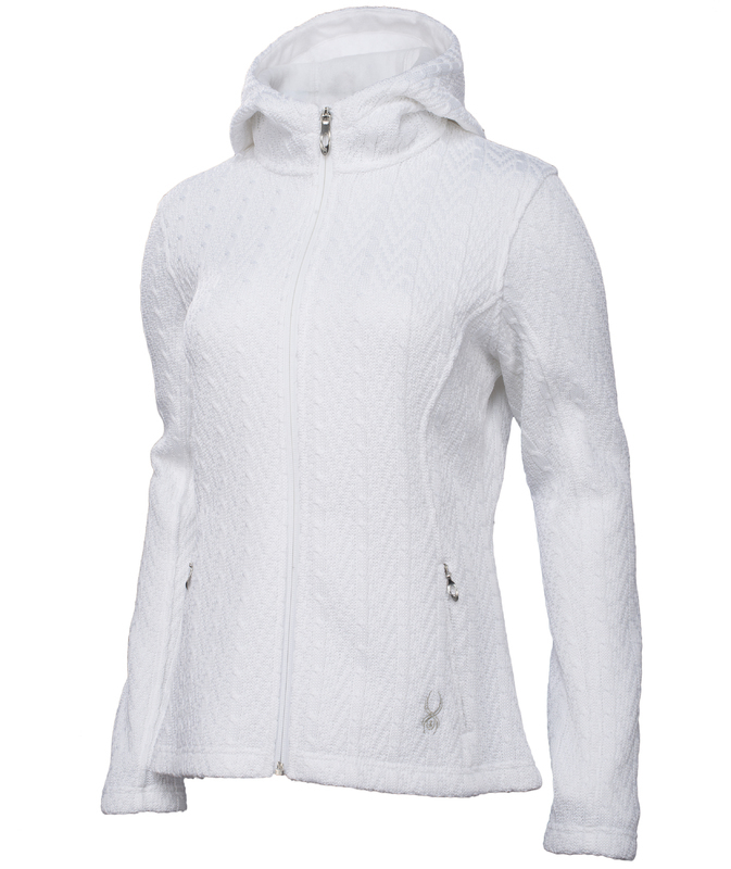 Sveter Spyder Women `s Major Hoody Cable Core Sweater 142522-100