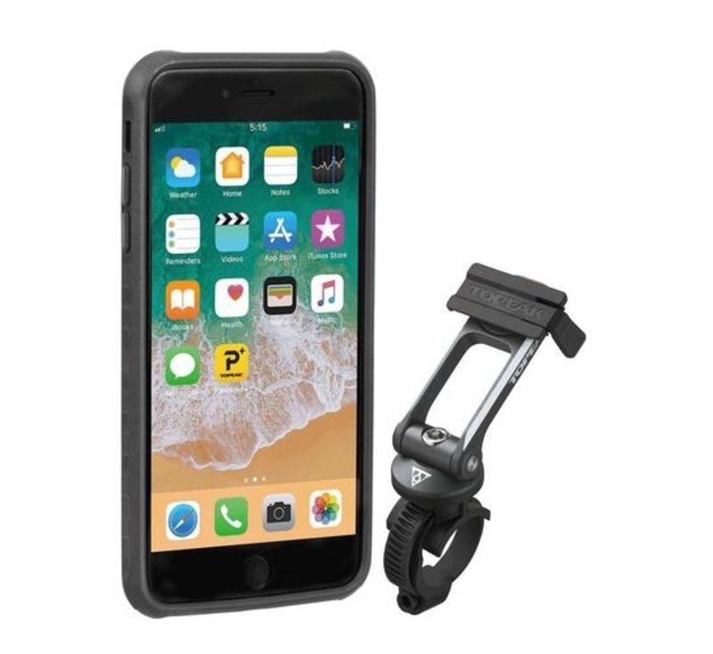Obal Topeak RIDECASE pre iPhone 6 Plus, 6s Plus, 7 Plus, 8 Plus čierna / šedá 2019