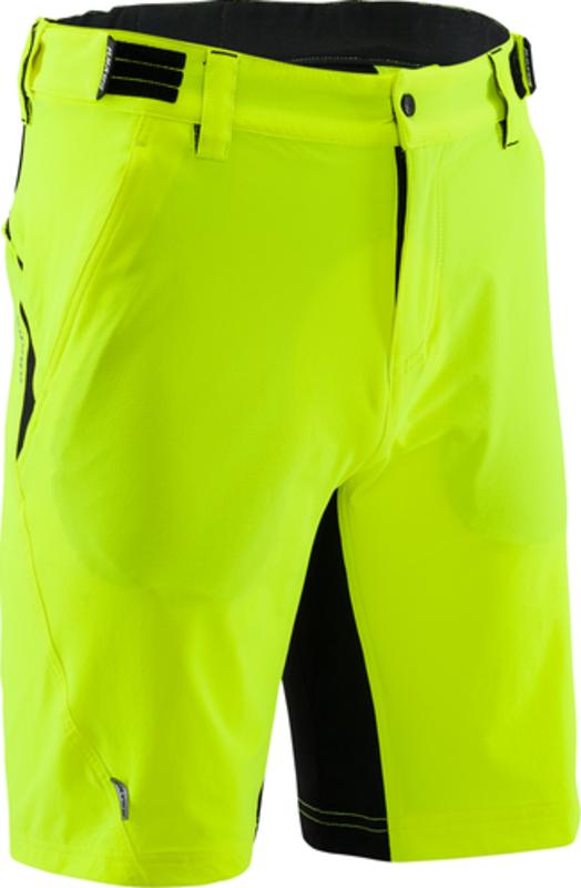 a18fb50244a03 Pánske MTB cyklistické nohavice Silvini ELVO Elvo MP809 neon-black ...