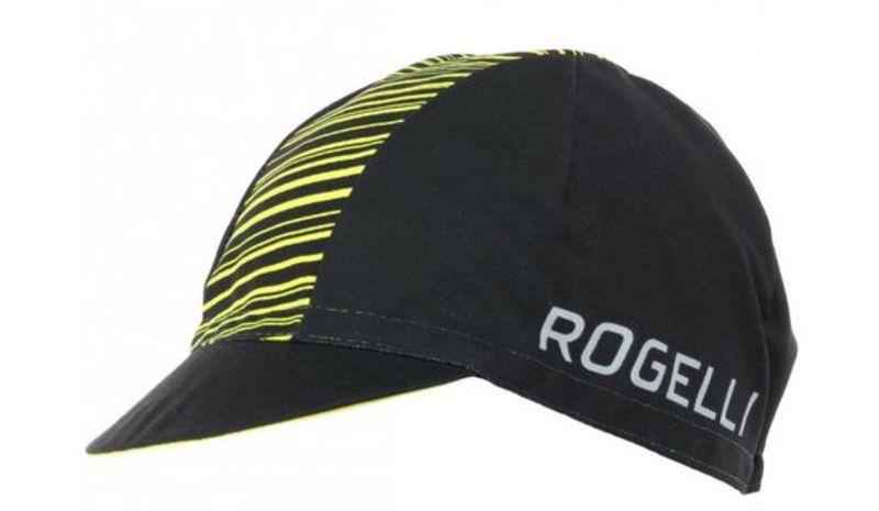 Športové šiltovka Rogelli RITMO, čierno-reflexná žltá 009.949.