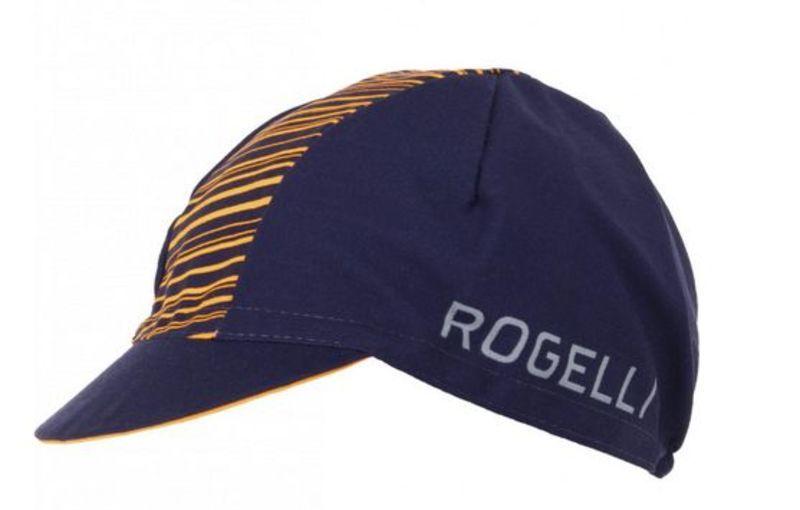 Športové šiltovka Rogelli RITMO, modro-oranžová 009.951.