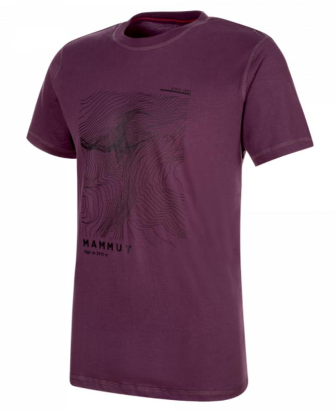 Pánske tričko Mammut Masson T-Shirt Men (1017-00950) galaxy PRT2 XL