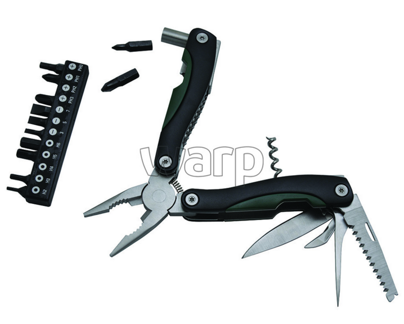 Multifunkčné nôž Baladéo BLI017 Locker zelený