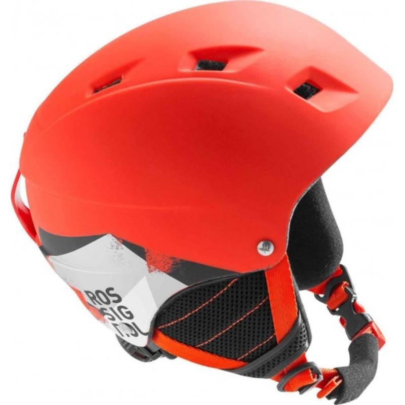 Lyžiarska helma Rossignol Comp J red-led RKFH504 - gamisport.sk 7ec0a9ee84a