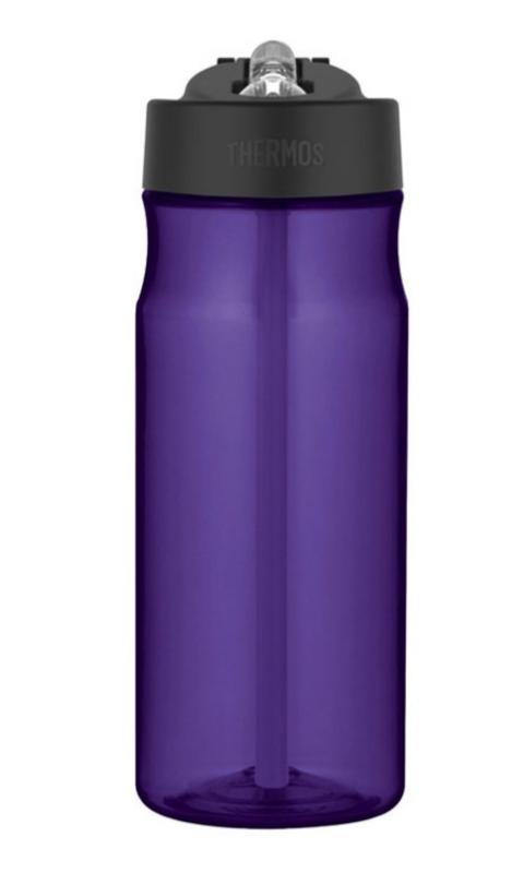 hydratačný fľaša s slamkou Thermos Šport fialová 320121