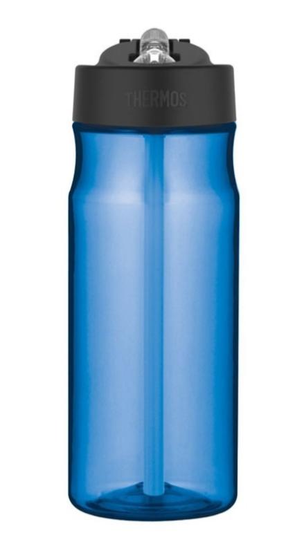 hydratačný fľaša s slamkou Thermos Šport svetlo modrá 320122