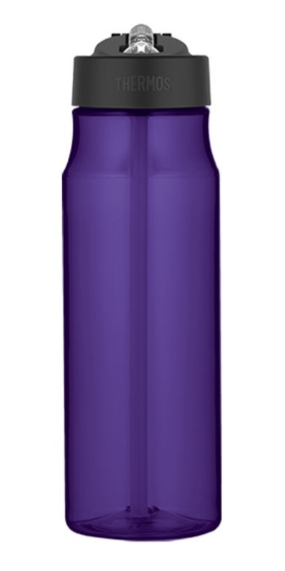 hydratačný fľaša s slamkou Thermos Šport fialová 320101