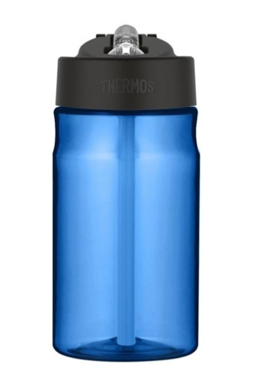 hydratačný fľaša s slamkou Thermos Šport modrá 320141