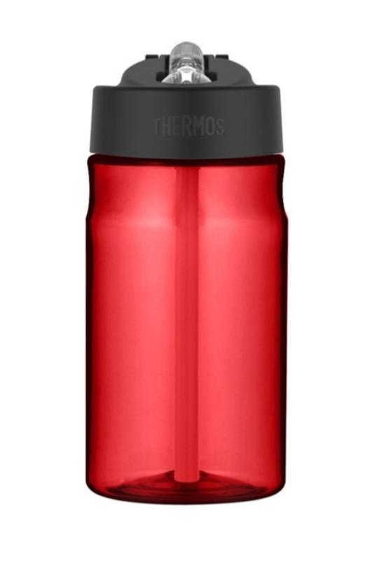 hydratačný fľaša s slamkou Thermos Šport červená 320142
