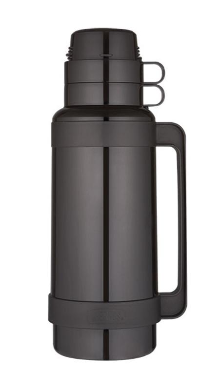 Sklenená termoska Thermos Traditional čierna 194521