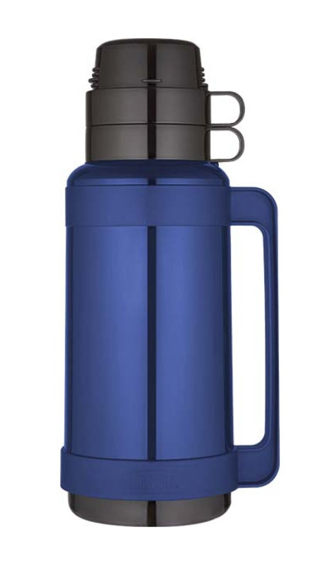 Sklenená termoska Thermos Traditional modrá 194522