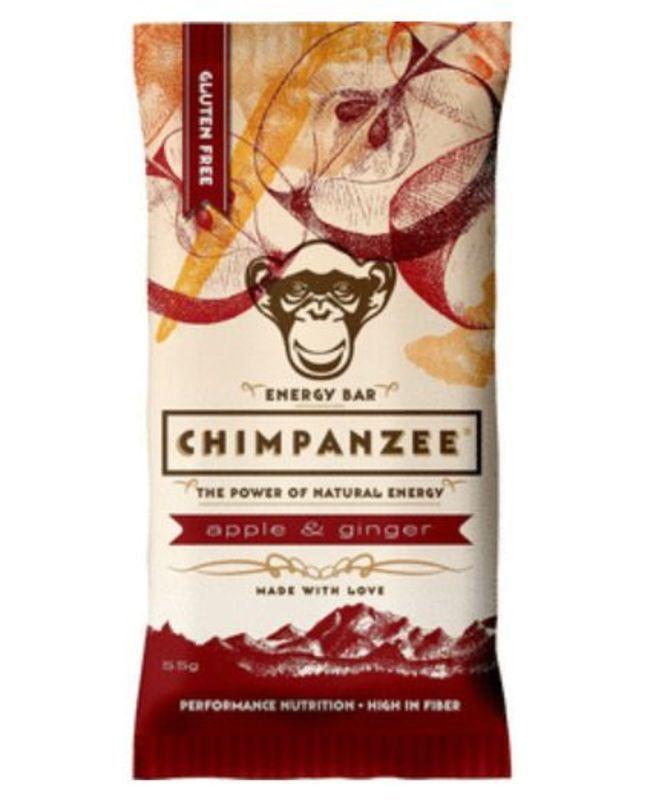 CHIMPANZEE BOX ENERGY BAR Apple - Ginger 20ks