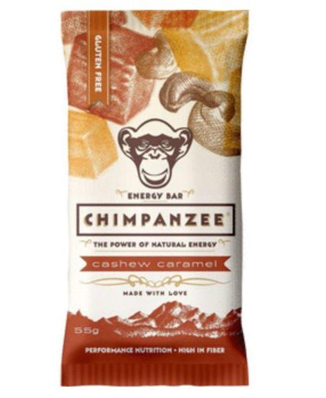 CHIMPANZEE BOX ENERGY BAR Cashew Caramel 20ks