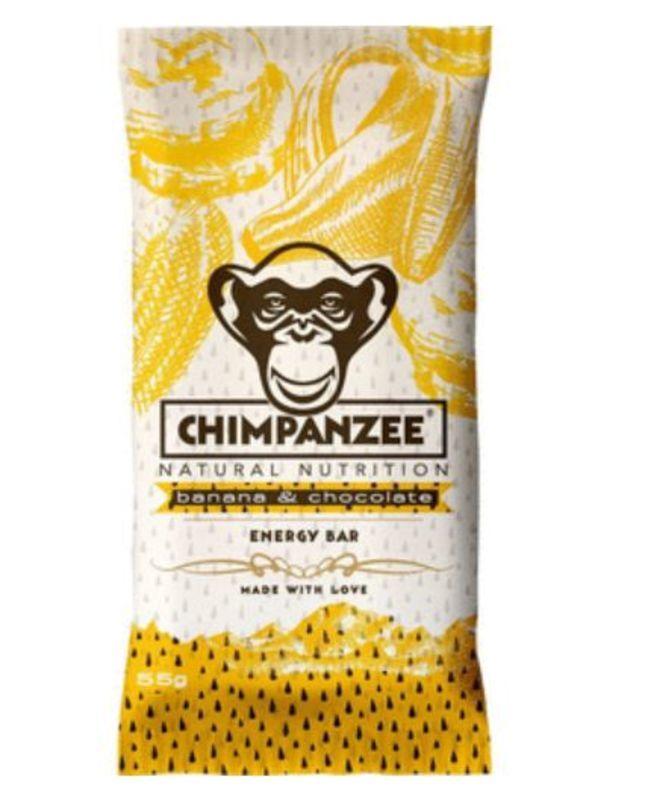 CHIMPANZEE BOX ENERGY BAR Banana Chocolate 20ks
