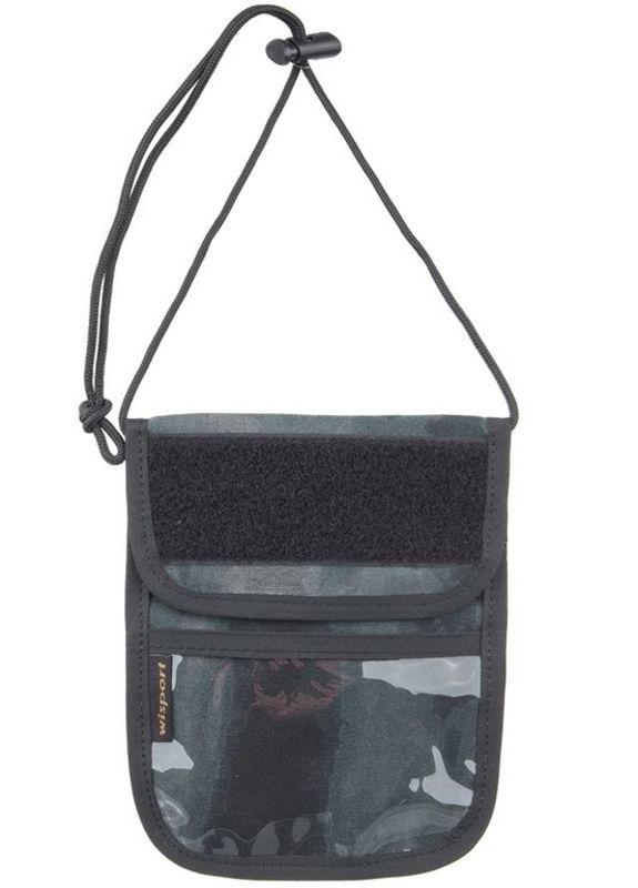 Púzdro na doklady - peňaženka na krk Wisport® Patrol - A-TACS LE ™