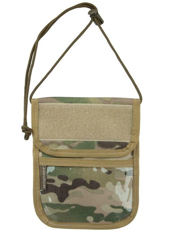 Púzdro na doklady - peňaženka na krk Wisport® Patrol - Multicam®