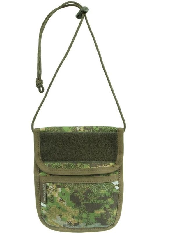 Púzdro na doklady - peňaženka na krk Wisport® Patrol - PenCott ™ GreenZone