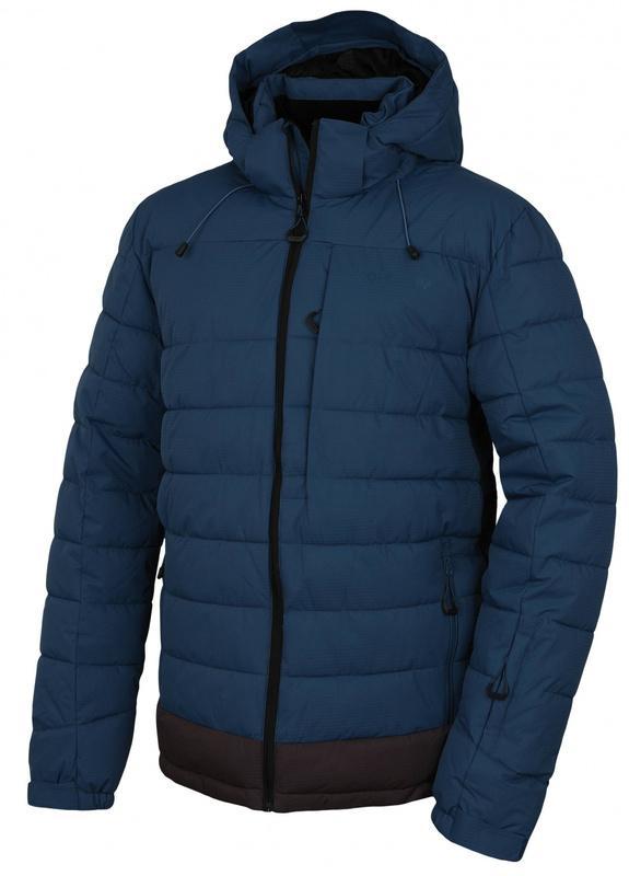 Pánska hardshell plnená zimný bunda Husky Nerel M tm. modrá M