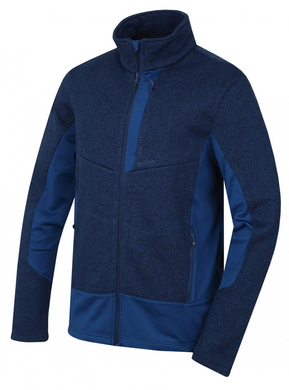 Pánsky fleecový sveter Husky Alan M hlboká modrá M